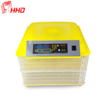 egg incubator with digital computer/ 96 eggs incubator for sale HHD