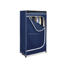 home organizer folding portable canvas wardrobe
