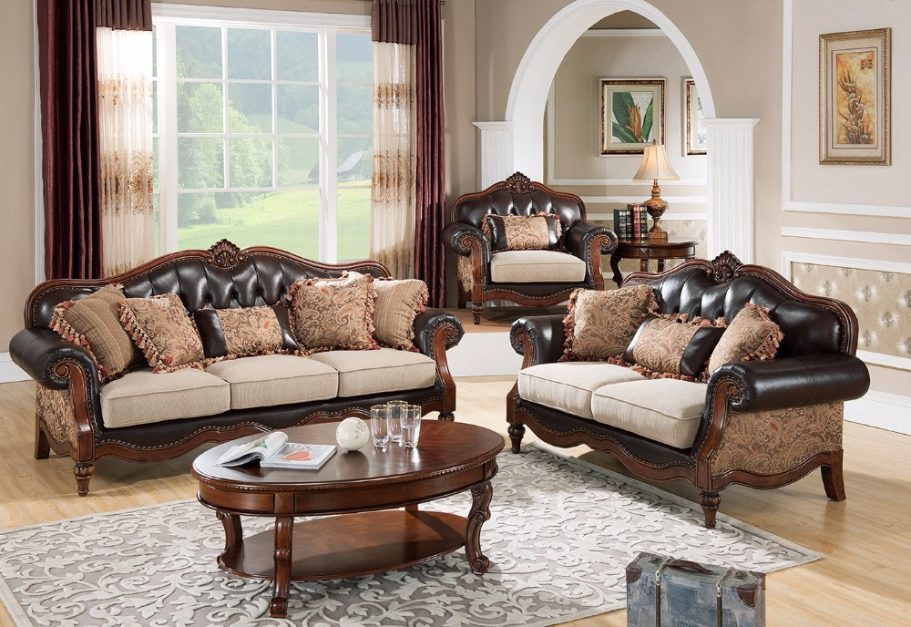 JYH classical comfortable fabric sofa solid wood fabric sofa classic sofa/contemporary furniture