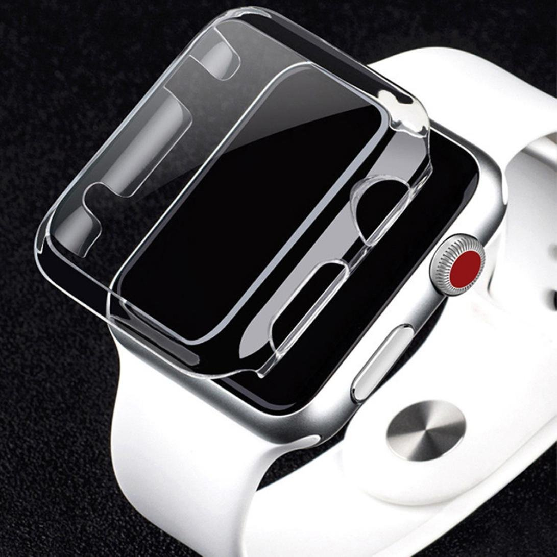 Gotd Ultra-Slim Electroplate PC Hard Case Cover For Apple Watch Series 2 38mm / 42mm (Clear Series 2 38mm)
