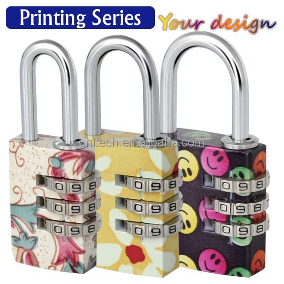 popular combination padlock,small lock for luggage