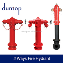 Outdoor fire hydrant FM UL Approved DN150 inlet used underground fire fighting
