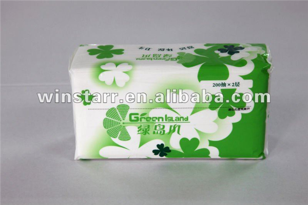 Promotional facial box tissue brands wholesale