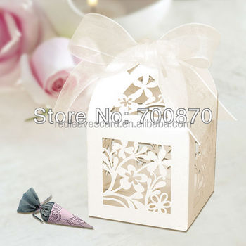 Wedding decoration candy paper box for giveaways with ribbon buy wedding decoration candy paper box for giveaways with ribbon junglespirit Gallery