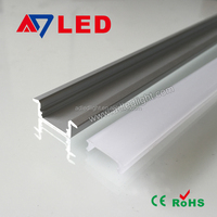 HOT!High quality aluminium led lighting profile/aluminium frame for led display led light aluminum