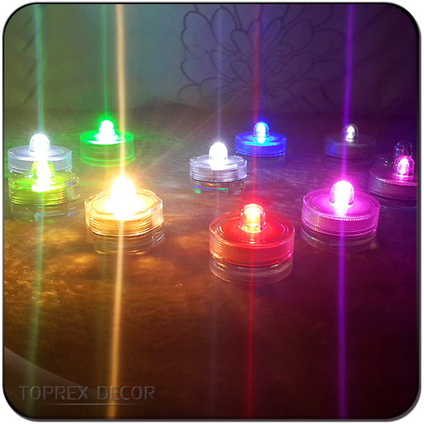 Waterproof lights led electronic candle light