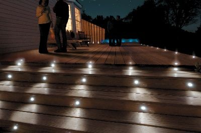 Warm/cool White Exterior Water Resistant 12v Low Voltage Led Step ...