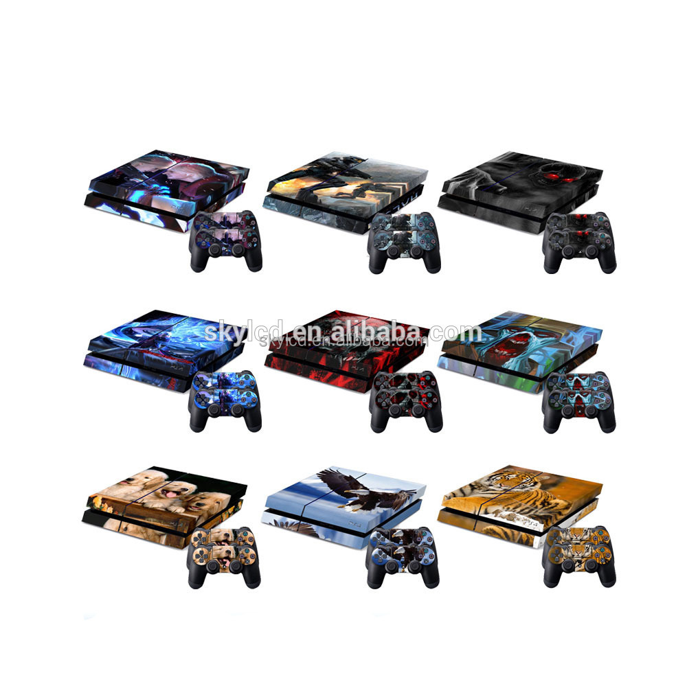 High quality skin for Playstation 4 vinyl sticker for ps4 skin sticker
