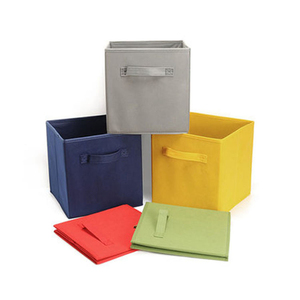 Professional 100% recycled home children's toy living non woven storage box