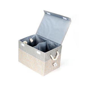 Collapsible Easy to Keep Fold Able Storage Box for Home Storage