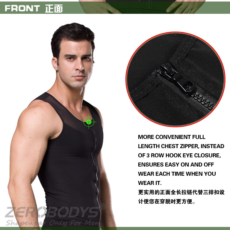 388 BK ZEROBODYS Slimming Shaper Weight Loss Sauna Vest