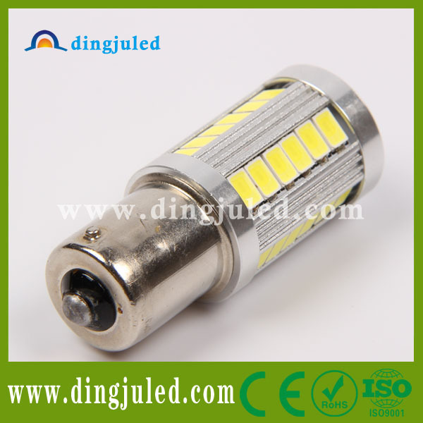 Super bright 1156 led bulb t20 5630 33smd auto signal lamp for ford ikon