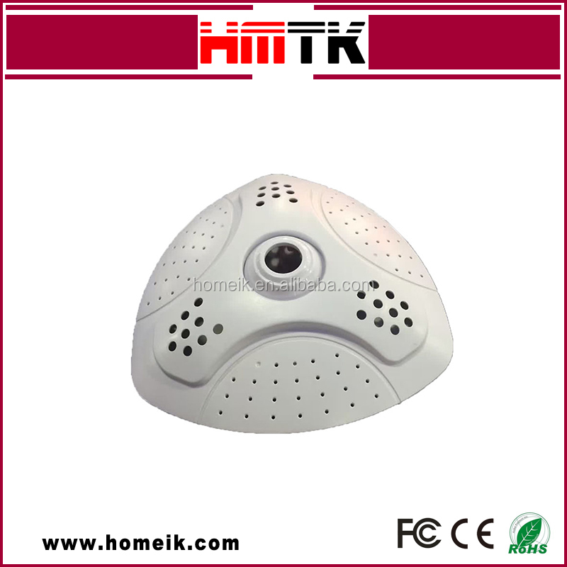 Hot Sell H.265 5MP Panoramic mini dome fisheye 1080p fish eye IP camera