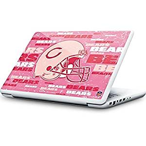 NFL Chicago Bears MacBook 13-inch Skin - Chicago Bears - Blast Pink Vinyl Decal Skin For Your MacBook 13-inch