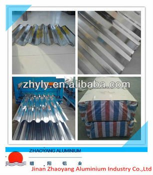 corrugated roofing aluminum sheets & aluminum alloy plate 1100 1060 3003 3105