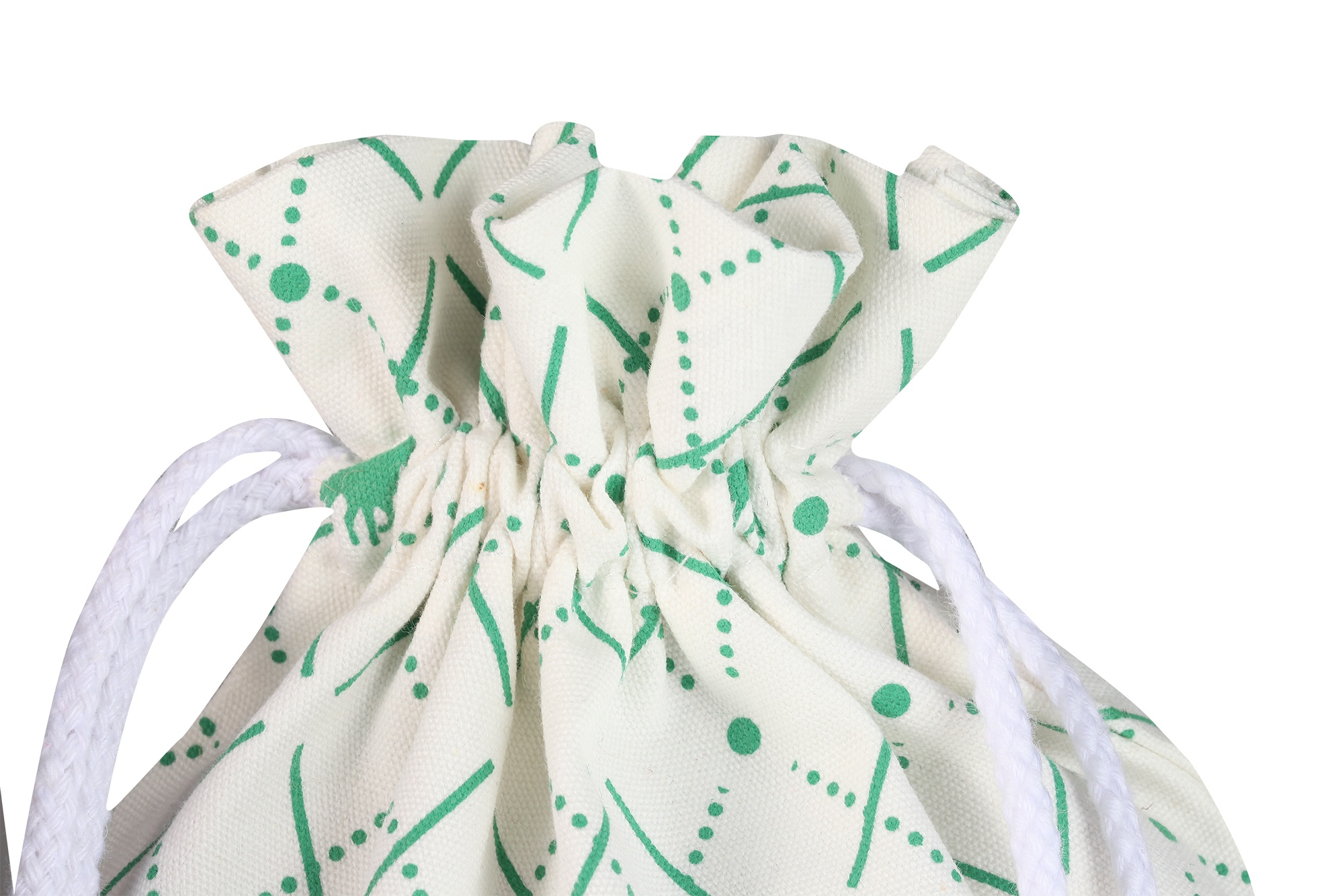 Wholesale organic cotton pouch drawstring muslin packing gift bags
