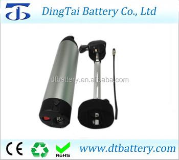 Li Ion Battery Water Bottle 48V 11.6Ah Battery Pack For Bike With Bafang/