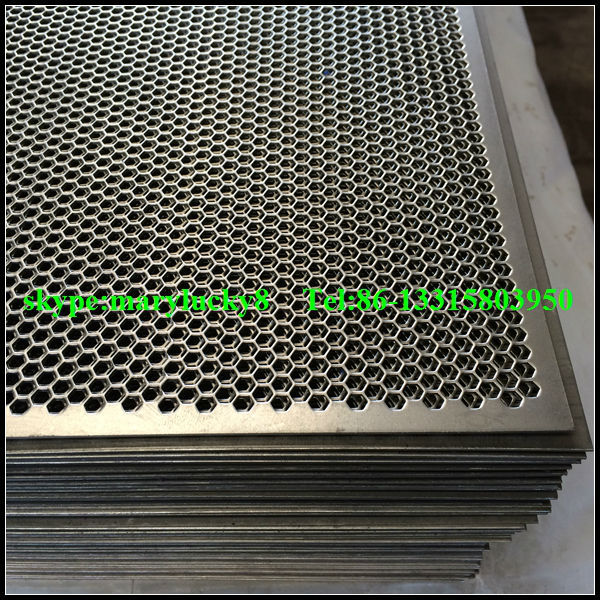 Hexagonal Perforated Metal Sheet Hex Perforated Metal