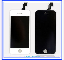 Venta caliente para el iphone 5S lcd placa base blanca para el iphone 5 pantalla lcd de pantalla para el iphone 5