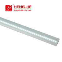 Hengjie V/U Shape Corner Mounting LED Aluminum Profile Channel With End Caps and Mounting Clips for LED Flex/Hard Strip Light