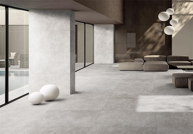 Building Materials China Glazed Non-slip Grey Floor Tiles Ceramic Porcelain