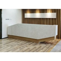 Professional Supplier Good Quality Curved Modern Reception Desk for Sale