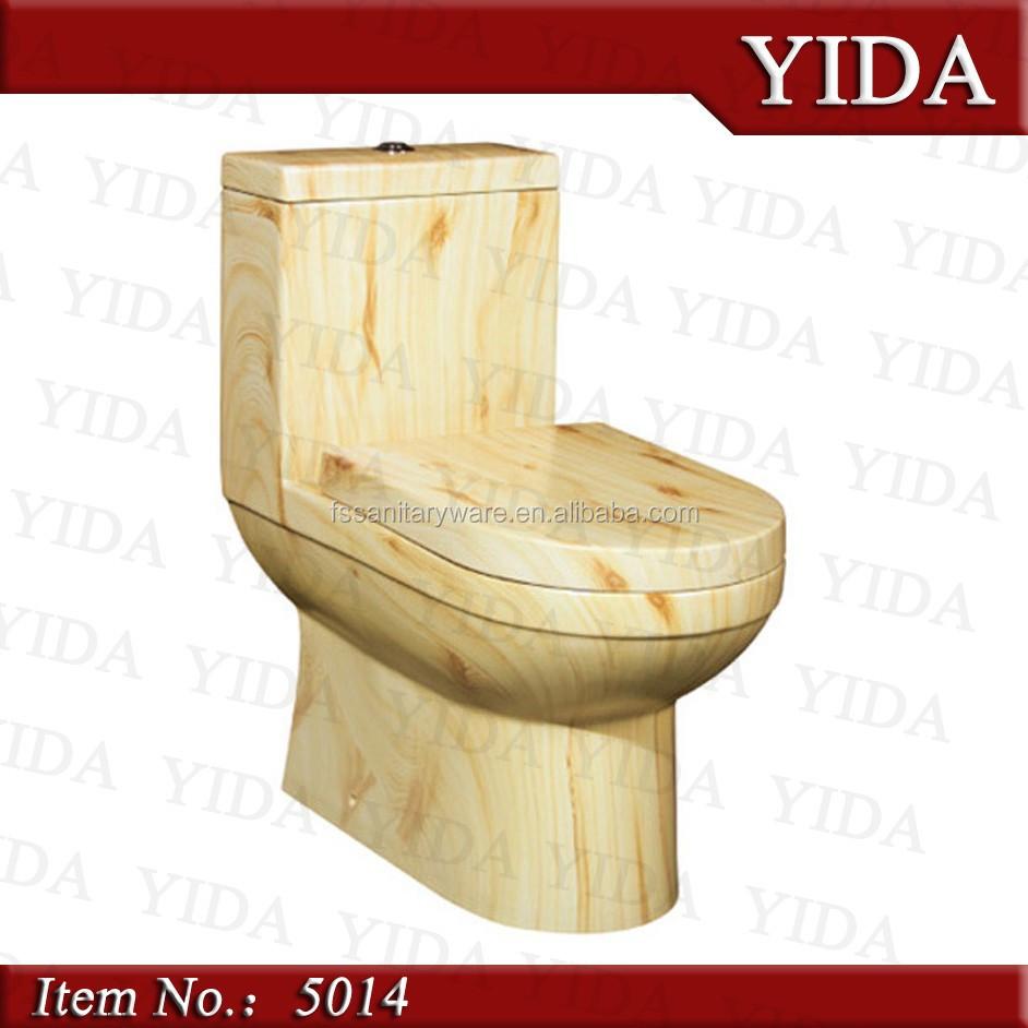 Unieke ontwerp toilet oppervlak kleur steen, een stuk wc kleur ...