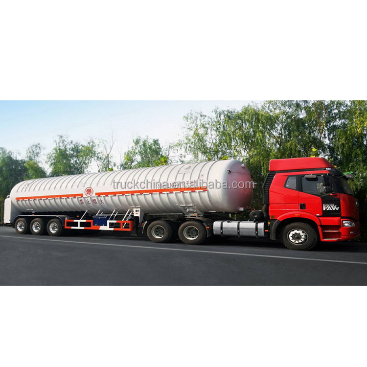 CO2 LNG CNG Tube Transport Tanker Trailer with High Quality for sale