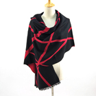 Long Keep Warm Comfortable 100% Double-Faced Silk Scarf