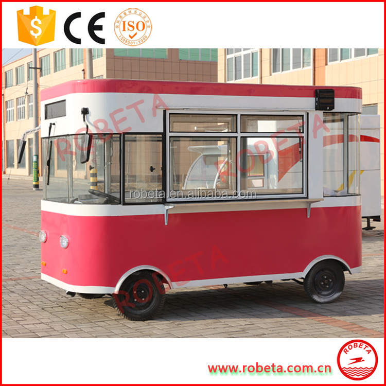 crepes car concession food trailer for sale catering truck for lease