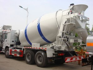 12cbm Self Loading Mobile Concrete Mixer /concrete Mixer Truck With Loader