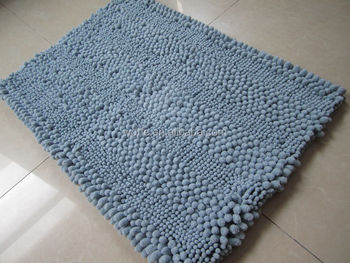 Noodle Chenille Rugs Grey Prayer Mat