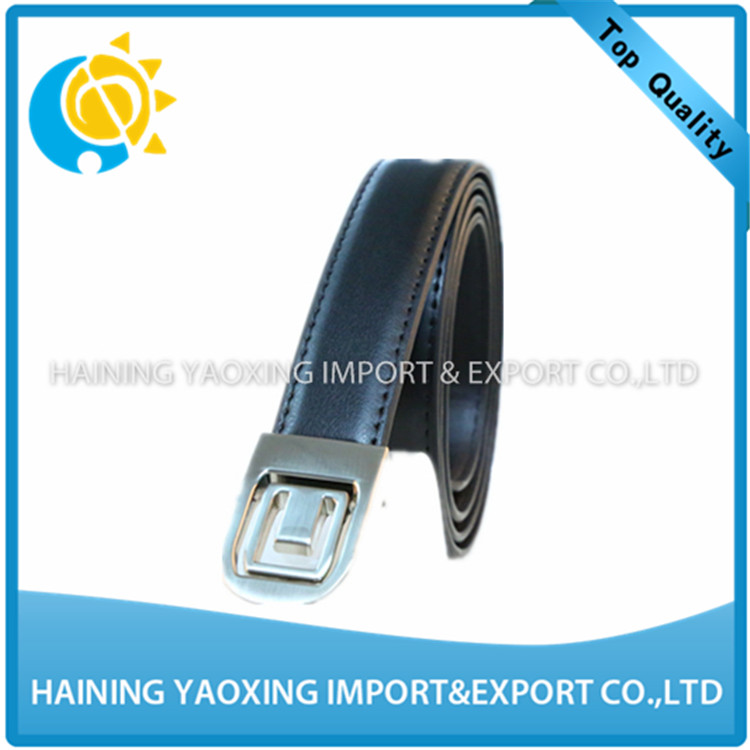 Discount PU leather mens leather belt 46 with no MOQ