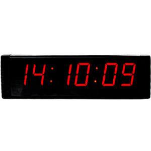Ganxin 1.5 inch 6 digits led clock with multiple functions