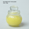High quality round glass spice jar with dropper sealing for kitchen use