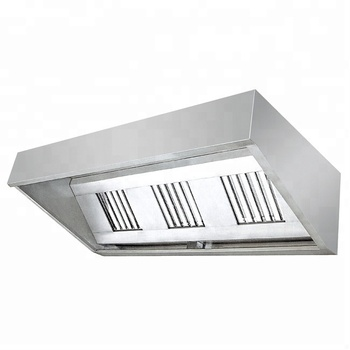 Restaurant Catering Range Hoods in Singapore/Commerical Stainless Steel Kitchen Aire Cooker Hoods Factory