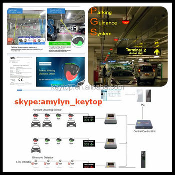Parkiing Guidance System With Occupancy Sensor And Parking