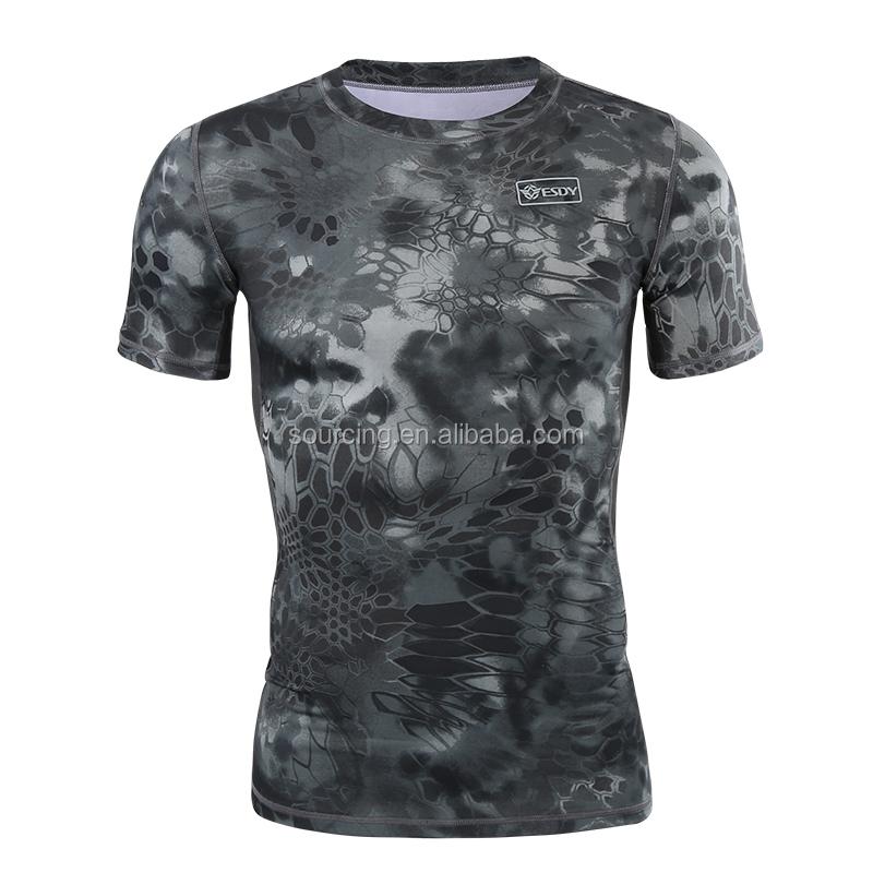 6 色陸軍軍用戦闘カエルスリーブタクティカ Tシャツ