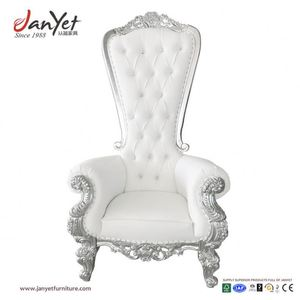 King And Queen Regal Throne Chairs Wing Back Chairs