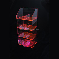 3 tiers Acrylic phone accessories display for phone case display rack