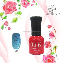 2017 Mengni fashion colorful gel expert UV/LED lamp nail polish 106