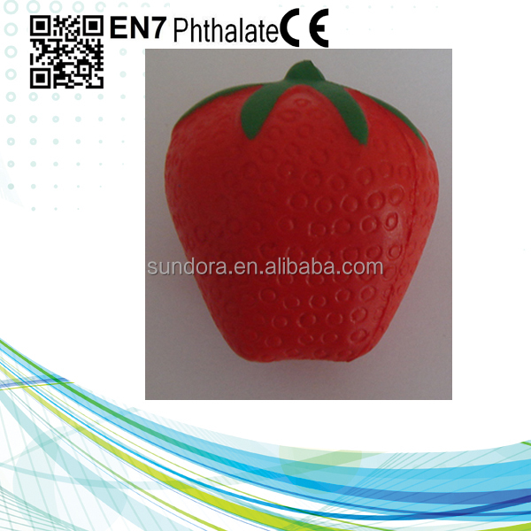 CE certificate Top Quality fruit shape stress ball