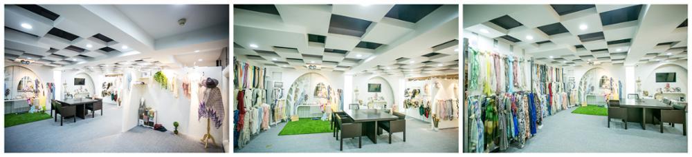 Hot selling multi-color fashion arab jacquard viscose print scarf china