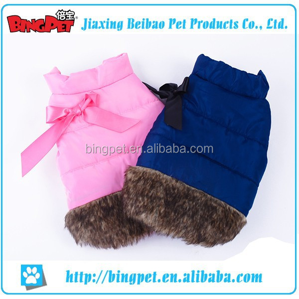 Wholesales Pet Winter Coat Dog Warm Clothes Cat Dog Cute Winter Jacket