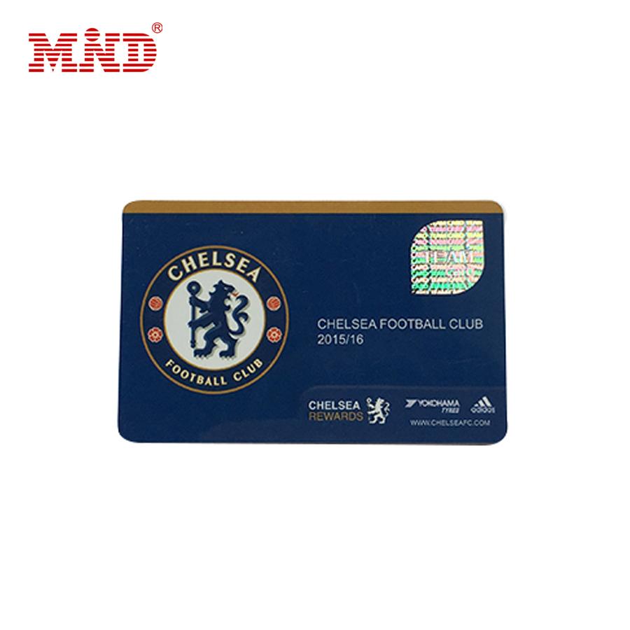 Free Sample plastic PVC SLE4442 SLE5542 RFID contact IC card