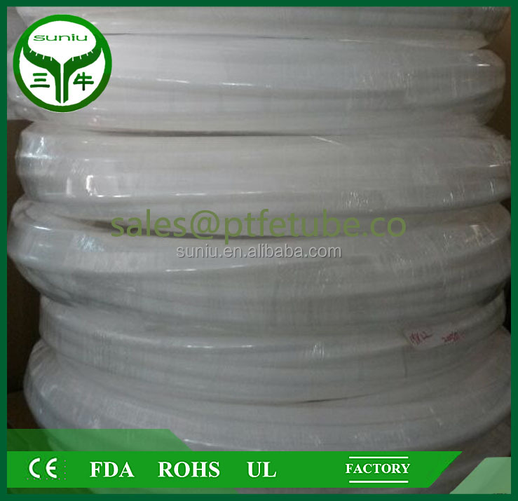 ptfe sheet resin Plastic PTFE PTFE tube/pipe heat shrink ptfe tubing pipe hose tube / suniu