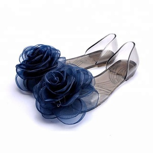 68a51ee8a32925 Plastic Jelly Shoes