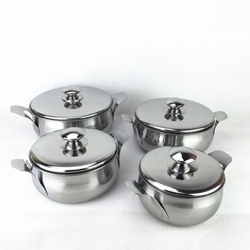 14.16.18.20cm Kitchen Utensils Stainless Steel India Hot Pot Pan Cooking  Pot Set - Buy Cooking Pot Set,Stainless Steel Indian Pot Pan Set,Stainless  ...