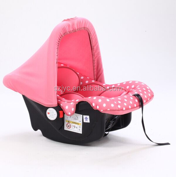 BFL001 Portable Infant Car Seat With ECE Certificate Baby Carrier Cot 3 Point