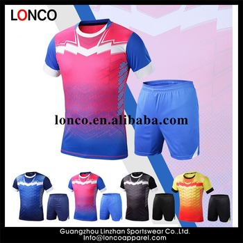 f2d262d61b6 2017 new style sublimation 100% polyester team men soccer uniform set, soccer  jersey latest